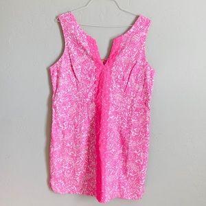 LILLY PULITZER pink mini dress